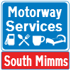 South Mimms Services road sign